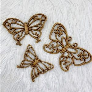 Vintage Butterfly Wall Decor